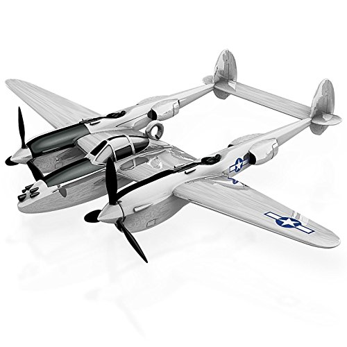 Lockheed P-38 Lightning American Fighter Aircraft Ornament 2015 Hallmark