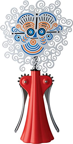 Alessi Anna G. 20th Anniversary Corkscrew Finish: Red by