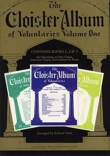 Alfred 12-0571528724 The Cloister Album Of Voluntaries - Volume One (Books 1-3) - Music Book