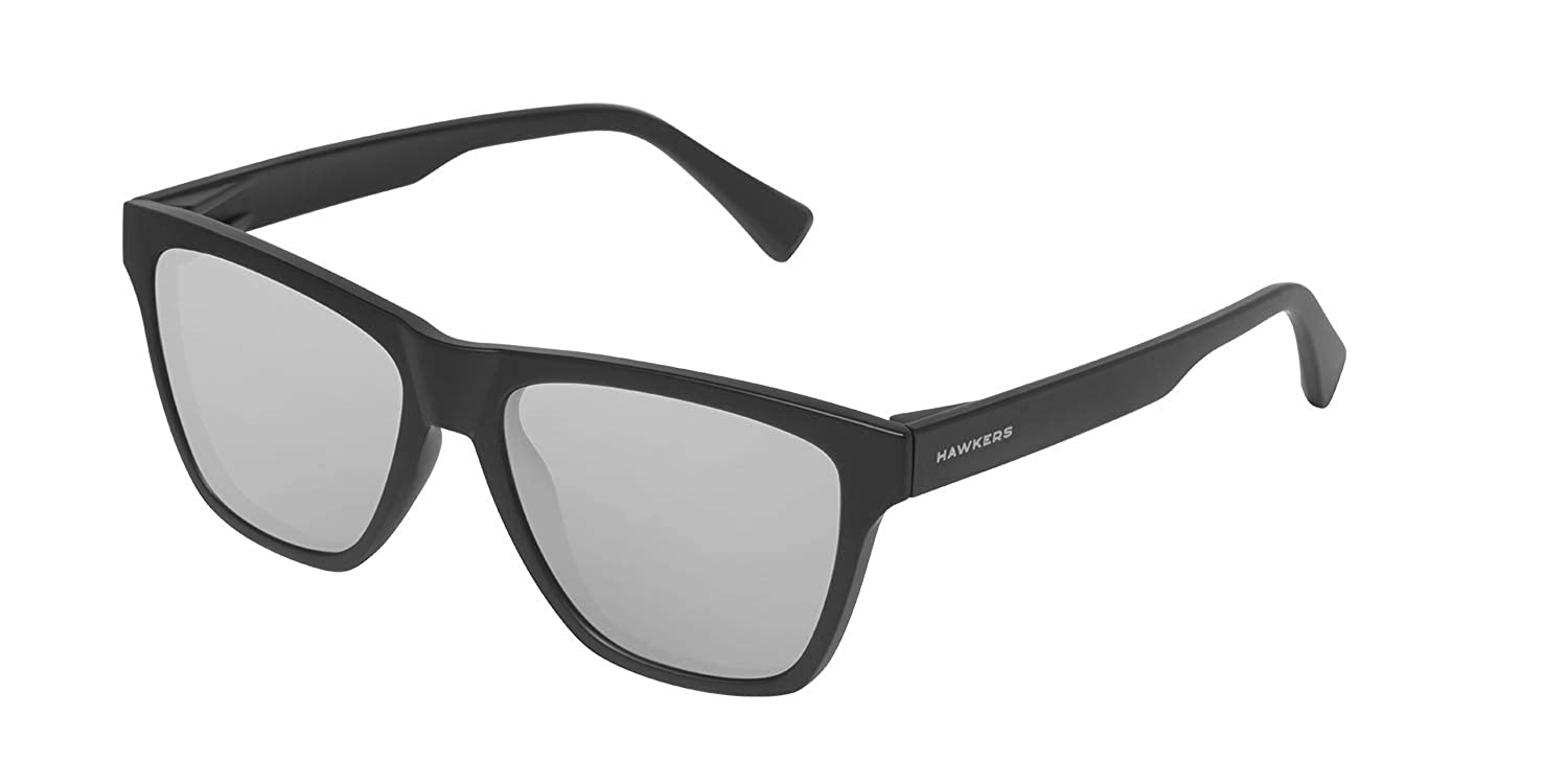 HAWKERS /· ONE LS /· Carbon Black /· Chrome /· Men and women sunglasses