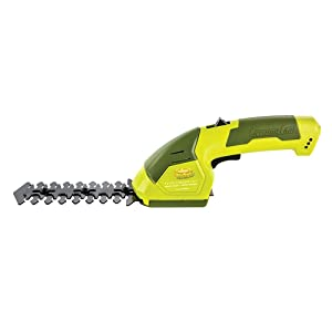 Sun Joe HJ604C Lithium-Ion Cordless Grass Shear/Hedge Trimmer, 7.2V