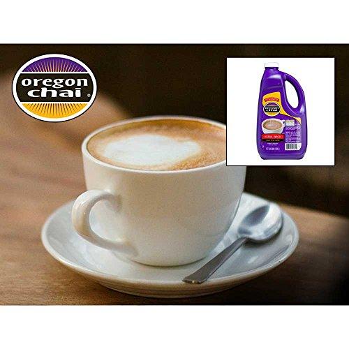 Oregon Chai Extra Spicy Chai Tea Super Concentrate - 0.5 gallon jug, 4 jugs per case by Oregon Chai