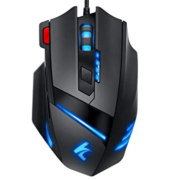 0b8e4466880 Gaming Mouse Wired Programmable 7 Buttons - Hcman [Upgraded Version] Led  Backlit & 5