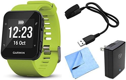 Garmin Forerunner 35 GPS Running Watch Activity Tracker with Accessories Bundle