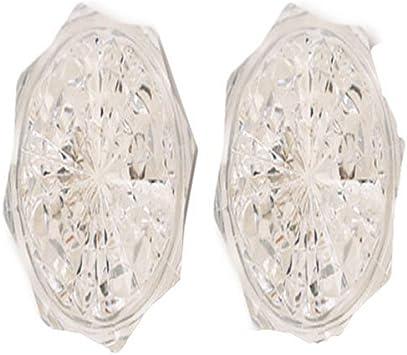2-Pack Clear Finish 3W Amertac-Westek 71046 Amerelle Jewel Night-Light Neon Bulb
