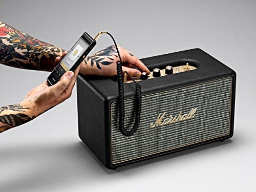 Marshall Stanmore Bluetooth Speaker, Black (04091627) by Marshall (Image #7)