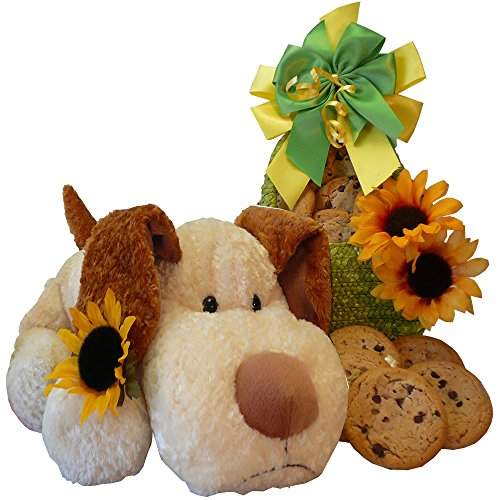 Cookie Bouquet Gift Basket - Art of Appreciation Gift Baskets Puppy Hugs and Cookie Kisses Gift Baskets