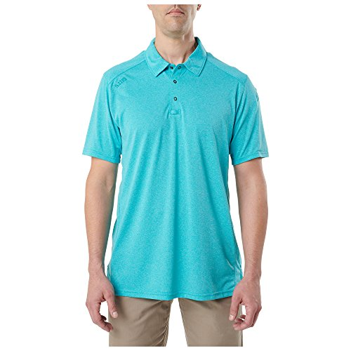 5.11 Tactical Men's Paramount Short Sleeve Polo, Polyester and Moisture Wicking Fabric, Style 41221 5.11 Tactical Long Sleeve Polo Shirt
