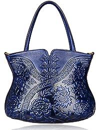 Designer Floral Handbag for Women Top Handle Satchel Bags Cheongsam Shoulder Bag