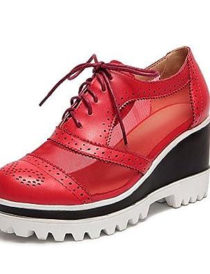 IOLKO - Zapatillas de bádminton para niña red-us9 / eu40 / uk7 / cn41 F6xFdmYEHI