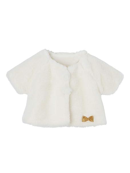 VERTBAUDET Chaqueta de pelo sintético para bebé niña: Amazon.es: Ropa y accesorios