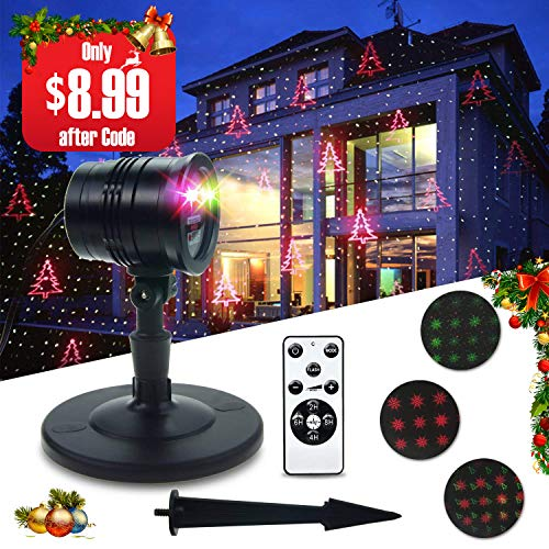 THZY Outdoor Projector-Laser Red & Green Lights Only $8.99