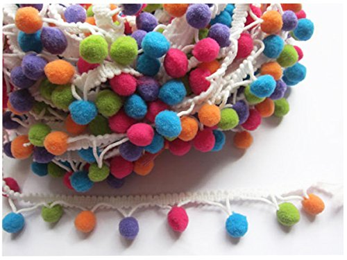 YYCRAFT Rainbow fringe Ribbon Sewing product image