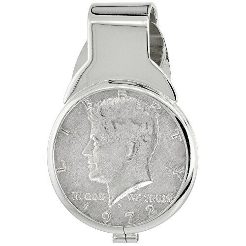 Sterling Silver Dollar Spring Genuine
