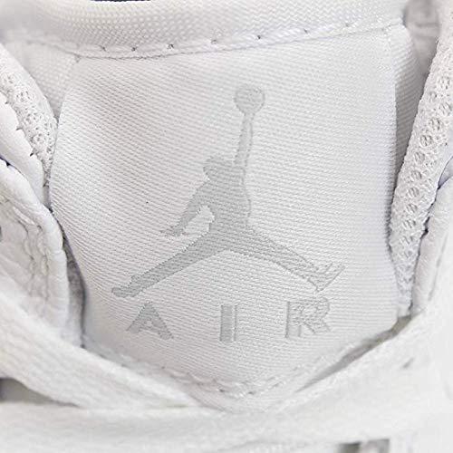 109 Baloncesto Platinum Mid Nike pure gs white Jordan De Zapatos Niños Multicolor Air 1 white Para ZwqFxwU0