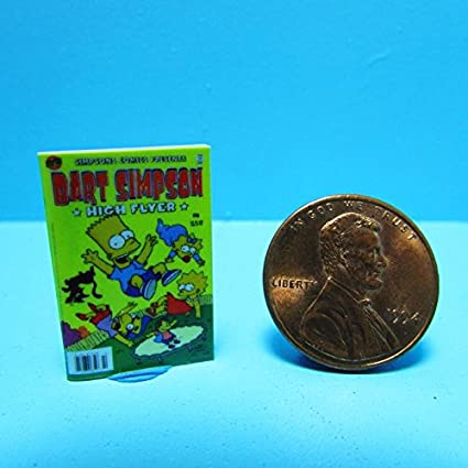 Amazon.com : Dollhouse Miniature Replica of Bart Simpson ...