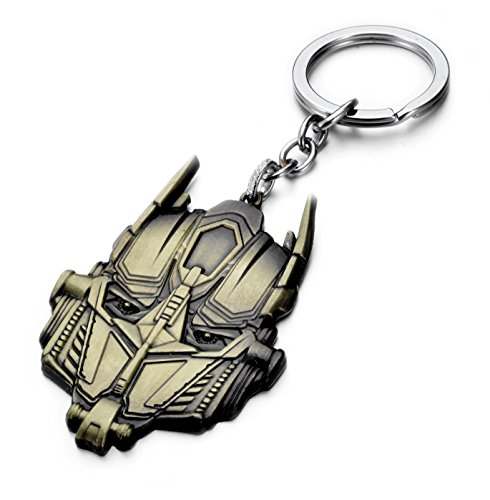 REINDEAR Transformers Optimus Prime Metal Mask Keychain -