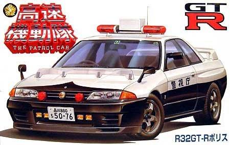 24.01 Schnelle Bereitschaftspolizei Serie 2 R32 GT-R Polizei vergriffen