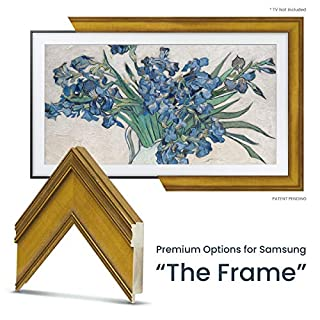 "Deco TV Frames - Antique Gold Frame Custom for Samsung The Frame TV (43"")"
