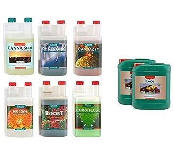Vv Hydroponics - Aditivos para canna Coco A&B y B de 1 litro ...
