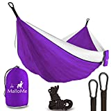 image for XL Double Parachute Camping Hammock - Tree Portable with Max…