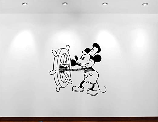 Mickey Mouse Wall Stickers Set of Vinyl Art Home Decor 36 Room