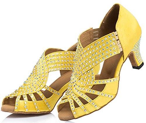 CFP - De baile, moderno Mujer Amarillo - amarillo