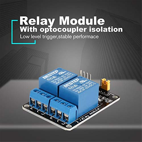 3V 2 canaux module de relais carte dinterface de d/éclenchement de bas niveau optocoupleur pour Arduino SCM PLC Smart Home Remote Control Switch