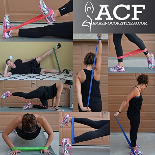 FROM USA ACF 4 Exercise Bands