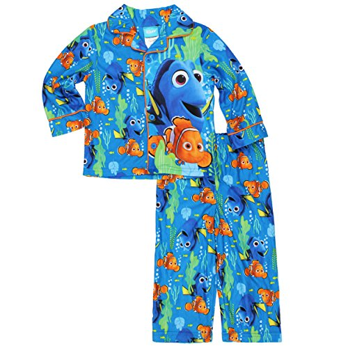 Disney Finding Dory Nemo Little Boys Flannel Coat Style P...