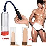 Gallity Sexy Toy Vacuum Pump - Enlarge Vacuum Pump Men's Booster Male Extender Sex Delay Device Sucking Machine