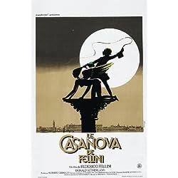 Fellini's Casanova POSTER Movie (27 x 40 Inches - 69cm x 102cm) (1976) (German Style A)