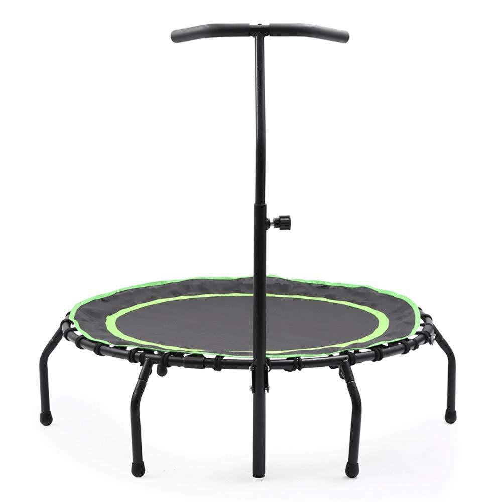 Fitness-Trampolin - Trampolin Indoor Home Erwachsene Gymnastik für Kinder Silent Trampoline Gewichtsverlust Mit Armlehnen Springbett