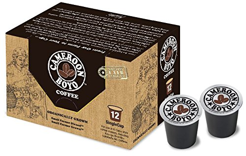 Cameroon Boyo Coffee Single Serve cups for Keurig and Single Serve Machines - 12 Count
