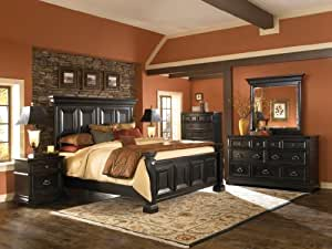 Brookfield Panel Bed (King) by Pulaski Furniture