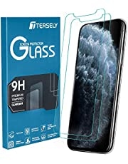 TERSELY Screen Protector for iPhone 11 Pro/X/XS, [2 Pack] 9H Case Friendly Tempered Glass Screen Protectors 3D Touch/Face ID Anti-Scratch Film Guard for Apple iPhone 11 Pro/X XS (5.8 inch)