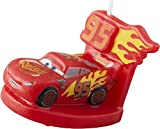 Wilton 2811-7110 3 Disney Pixar Cars 3 Birthday Candle, Assorted
