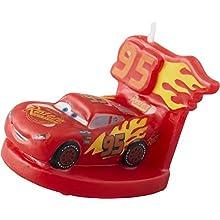Wilton 2811-7110 Disney Pixar Cars 3 Birthday Candle, Assorted
