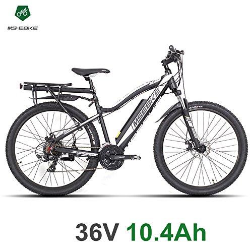 MSEBIKE 21 velocidades, bicicleta eléctrica de 27.5 pulgadas ...