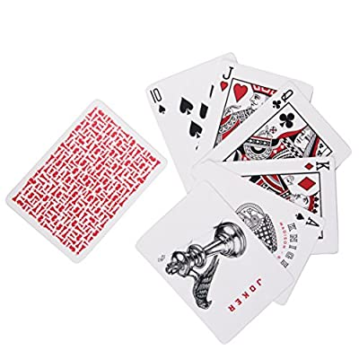 Ellusionist Red Knights Playing Cards Deck – by Daniel Madison and Chris Ramsay - Make Your Move: Sports & Outdoors