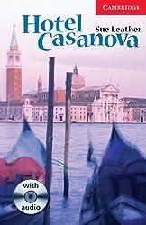 Hotel Casanova Level 1 Beginner/Elementary Book with Audio CD Pack