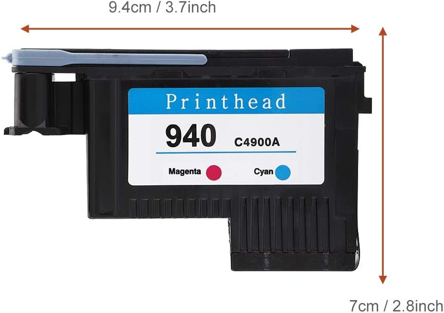 Professional Printhead for HP,Replacement for HP 940 C4900A C4901A 8000 8500 Printer Blue Red Tangxi Remanufactured Printhead