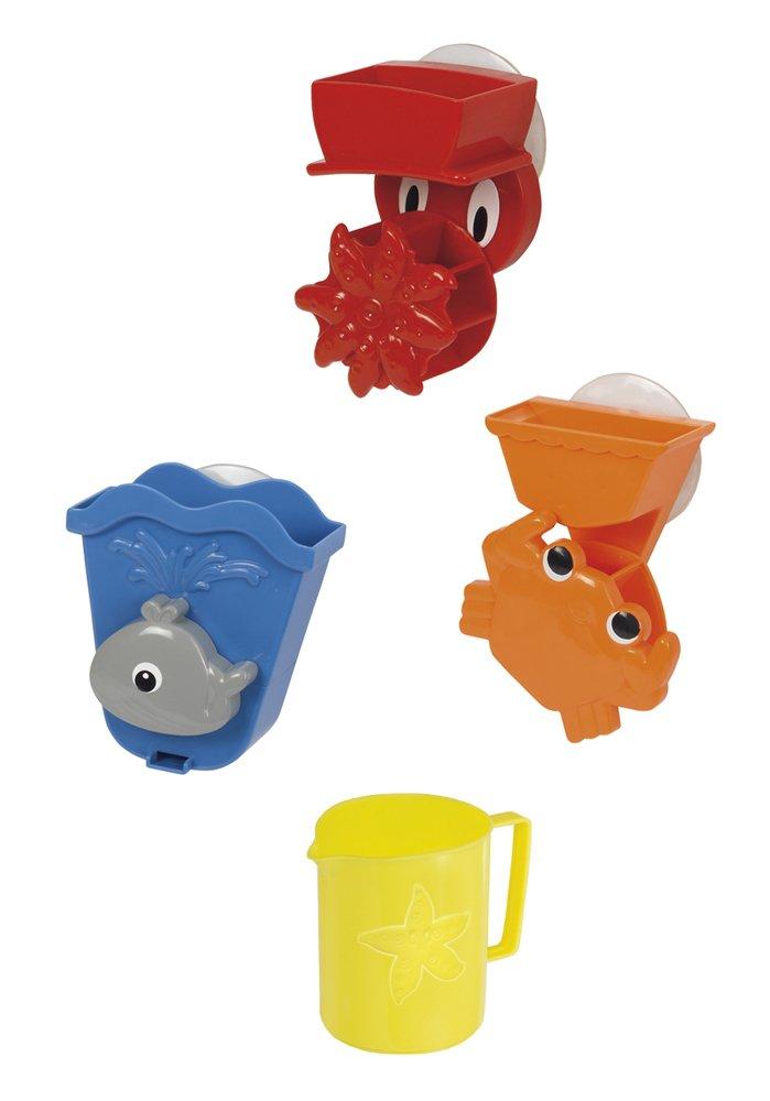 Simba 104019578 - ABC Badespielset 4-teilig Simba Toys