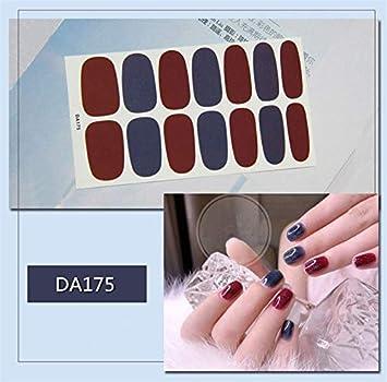 Amazon com: Xemesis-Store - Adhesive nail - Sheet Nail Art