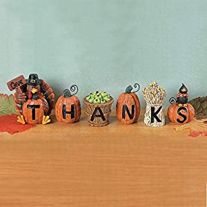 Give Thanks Blocks – Decorative Accessories