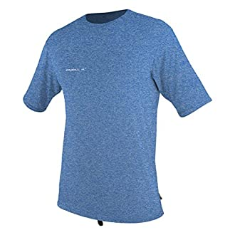O'Neill Men's Hybrid UPF 50+ Short Sleeve Sun Shirt, Blue,X-Large