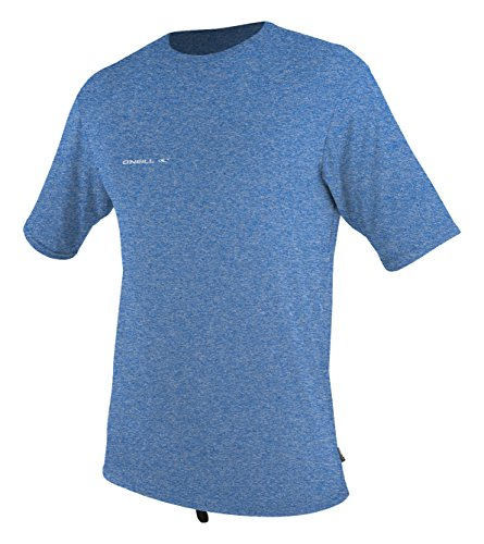 O'Neill  Men's Hybrid UPF 50+ Short Sleeve Sun Shirt, Blue,Large ()
