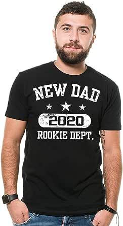 Silk Road Tees Hombres Nuevo papá 2018 Camiseta del bebé Announcet Nueva Camiseta del bebé del Regalo para el Padre