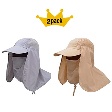 ffc55e4c18d59 Amazon.com   JoyRing 2 Pack Summer Outdoor Sun Hat