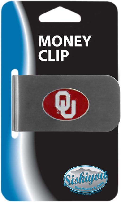 Siskiyou NCAA Bottle Opener Money Clip